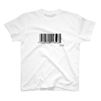 読み込めないバーコード T-shirts