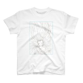 髪長姫の開放 T-shirts