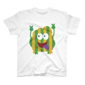 福来笑店のMONSTERS T-shirts
