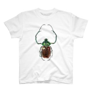 テルヌマテナガコガネ_カラー T-shirts