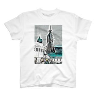 水揚げ T-shirts