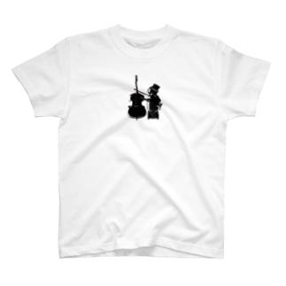 Yu-Ka Contrabass Original 【Robo】 T-shirts