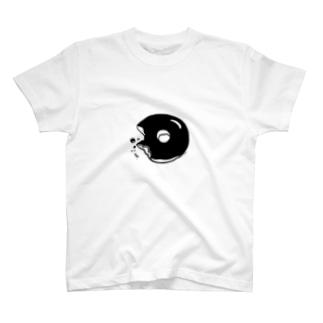 どーなつのある生活(chocolate) T-shirts