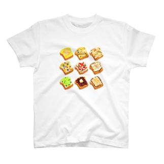 オープンサンド[甘味系] T-shirts