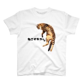 ねこぜネコ T-shirts