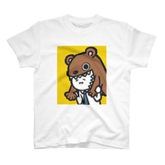 カジリーマン_くま T-shirts