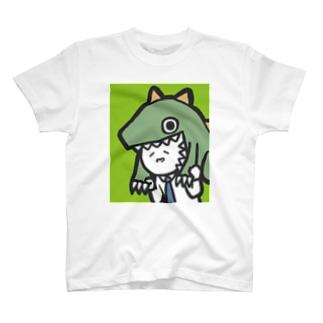 カジリーマン_恐竜 T-shirts