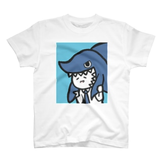 カジリーマン_サメ T-shirts