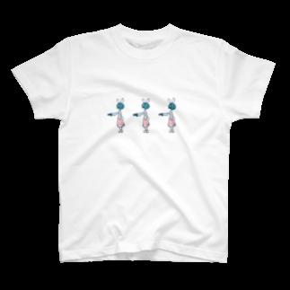 とうふ*アイコン変えたの暗殺バニー T-shirts