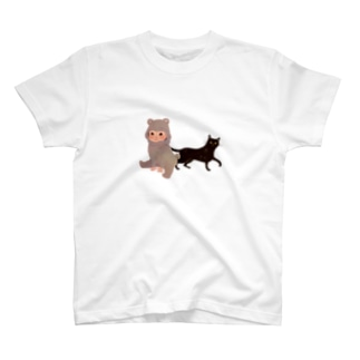 BearBaby&Cat T-shirts