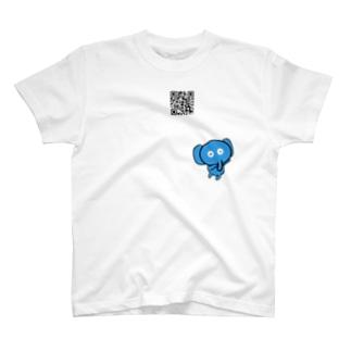 青い象の日常 T-shirts