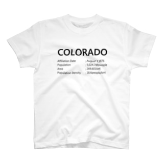 06_COLORADO_black T-shirts