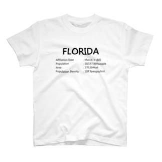 09_FLORIDA_black T-shirts