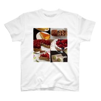 焼き菓子アピール T-shirts