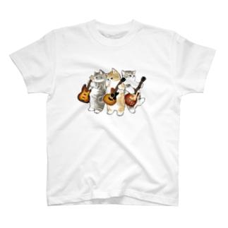 君のために歌う「ニャー」 T-shirts