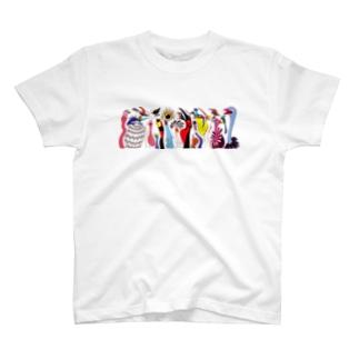 トリダラケ T-shirts