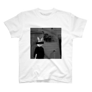 うさぎが1人. T-shirts