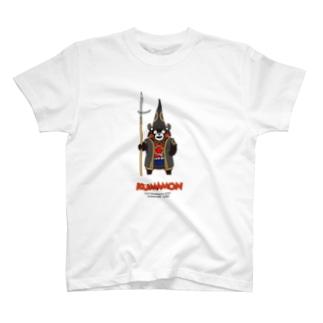 くまモンのTシャツ #戦国武将 T-Shirt