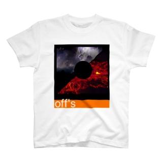 雷とマグマとレシート T-shirts