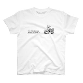 いつの間にか成長してる T-shirts