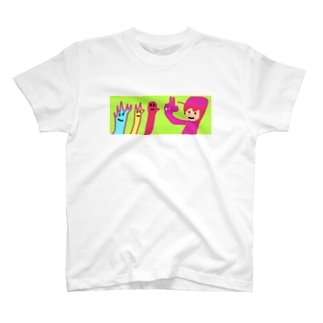 デストロイMISAKIとじゃんけんズ T-shirts