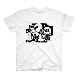 LOVE FRENCH-BULLDOG T-shirts