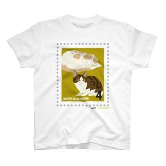 キャトル切手_猫01 T-shirts