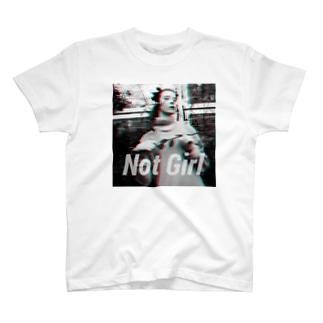 NOTBITCH notgirl T-shirts