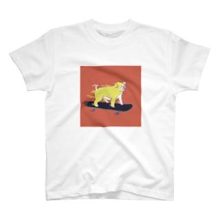 スケボードッグ🛹 T-shirts