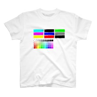 カラーチャート風 T-shirts