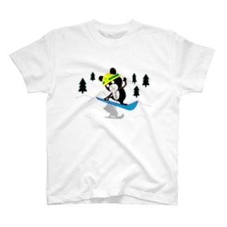 なうくま(スノボ中) T-shirts