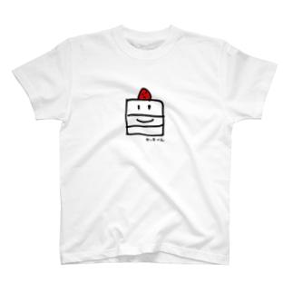 ケーキくん T-shirts
