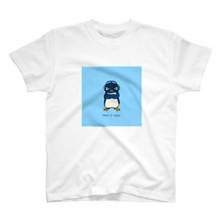 Ruさんの水色背景 T-Shirt