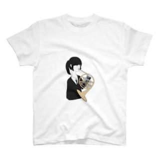 ホルン吹きちゃん T-shirts
