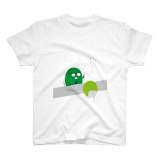mame 説明をきく T-shirts