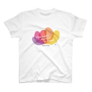 ファミリーハウス<チャリティ>花 T-shirts