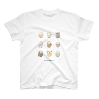 作家名【ねむのき なこ】 T-shirts