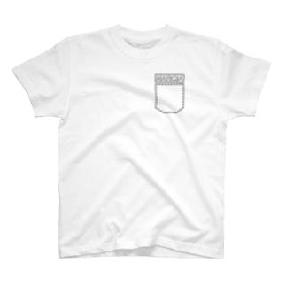仮6ぽけ T-shirts