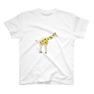 きりんです。 T-Shirt