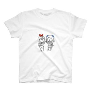 おめがの2人 T-shirts