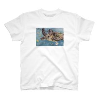 ウミガメ ナミちゃん T-shirts