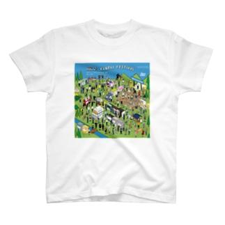 iso Brewing Designのイラスト乾杯フェス_batch 1 T-shirts