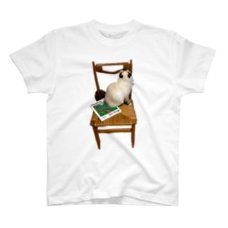てんてんゴッホ椅子 T-shirts