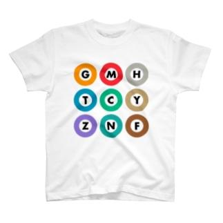 TOKYO METRO-東京メトロ- T-shirts