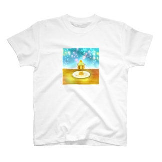 《イラスト14》*かめくんとパンケーキ* T-shirts