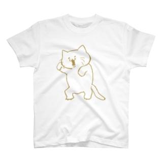 あじのあるねこ T-shirts