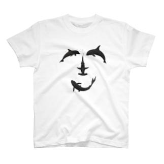 笑顔でギョギョギョ! T-shirts