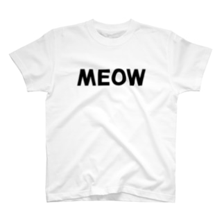 MEOW Tシャツ T-shirts