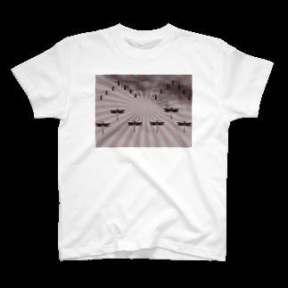 YOSY@愛知撮影、編集依頼募集!の編隊飛行 T-shirts