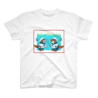 古生物の水兵さん〜Sailor's Paleontology〜 T-shirts